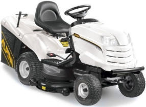 Alpina AT8122HCB tractor lawnmower